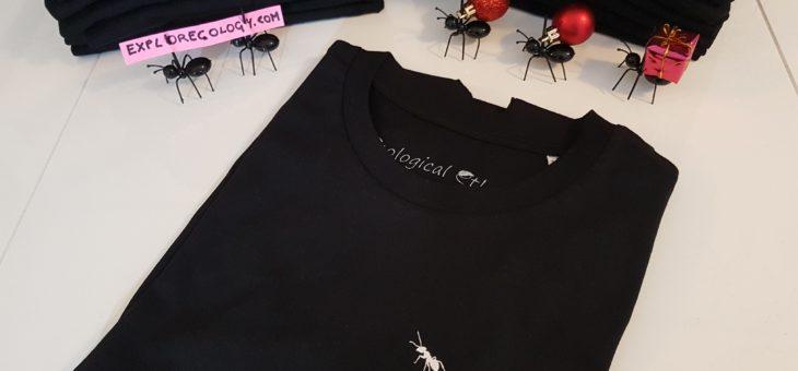 Soutenez l'association en achetant un T shirt fourmi